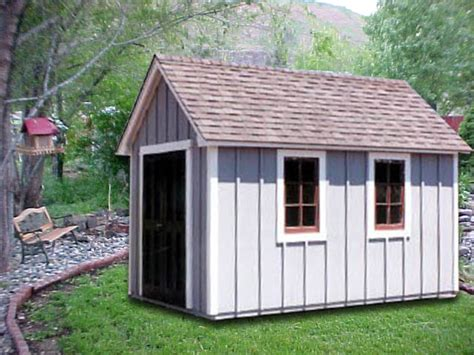6 X 12 Garden Shed by Cape Cod Sheds Archives Portable Buildings Inc