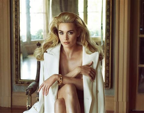 Kate Winslet Gets For Vanity Fair by Frosting Kate Winslet By Steven Meisel For Vanity Fair
