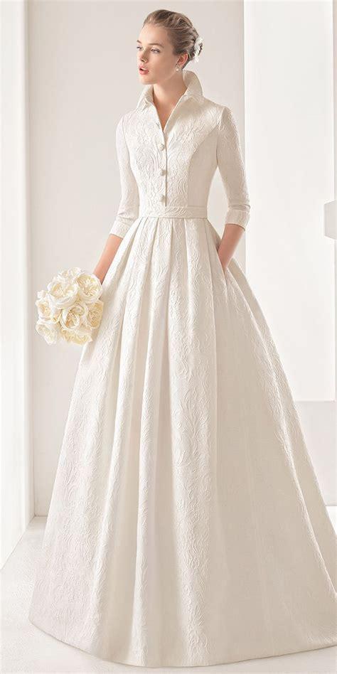 Collar Classic Dress rosa clara 2017 wedding dresses with goddess