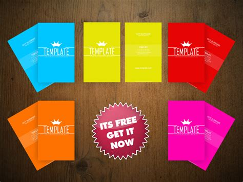 20 free business card psd templates to designbump