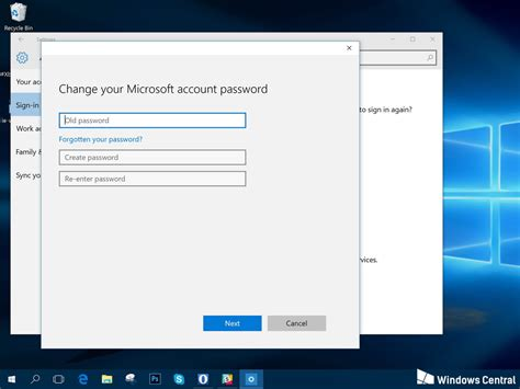 windows 7 password reset geek how to change your account password in windows 10 geek