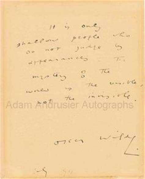 lettere di oscar wilde scrittura di niccol 242 paganini autografi e lettere di