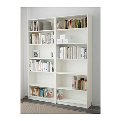 bookcase white billy bookcase white 160x202x28 cm ikea