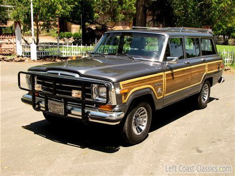 Jeep Wagoneer For Sale 1989 Jeep Wagoneer Suv Ebay