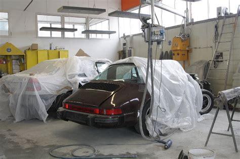 Lackierung Vorbereitung by Porschelackierung Colourpoint Lackiererei