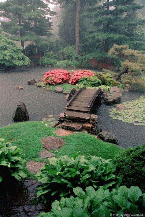 japanese garden bridge japanese garden with island and bridge garden chic