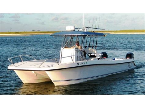 twin vee boats 2007 twin vee 29 center console catamaran powerboat for