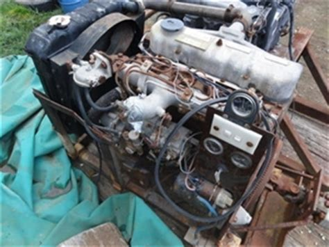 4 cylinder diesel engine mitsubishi 4dr50a asset at