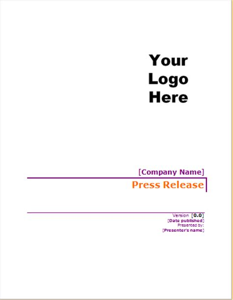 project cover page template project cover page templates for ms word document hub