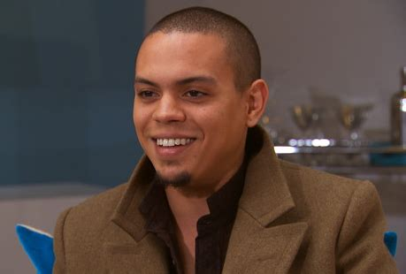 evan ross i want you rhymes with snitch celebrity and entertainment news