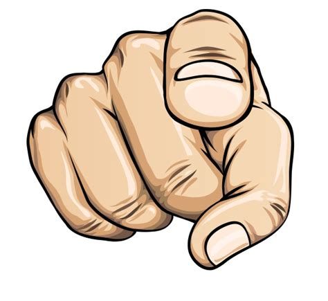 Pointing Meme Face - a finger pointing on you clipart best