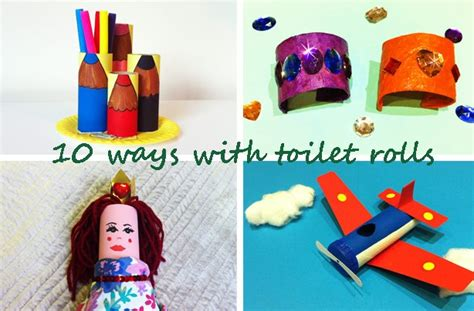 Things To Make Out Of Toilet Paper Rolls - 10 things to make with a toilet roll goodtoknow