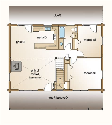 open floor plan for small houses