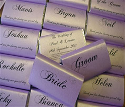 personalised chocolate wedding favours uk personalised wedding chocolate bars wedding favours treasures bags