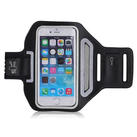 Sporty Phone Armband premium running sports armband cover holder card key slot phone ebay