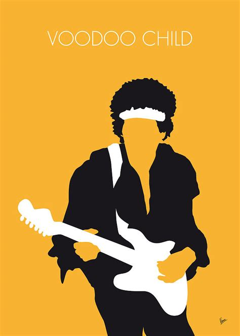 Home Design App Alternative no014 my jimi hendrix minimal music poster digital art by