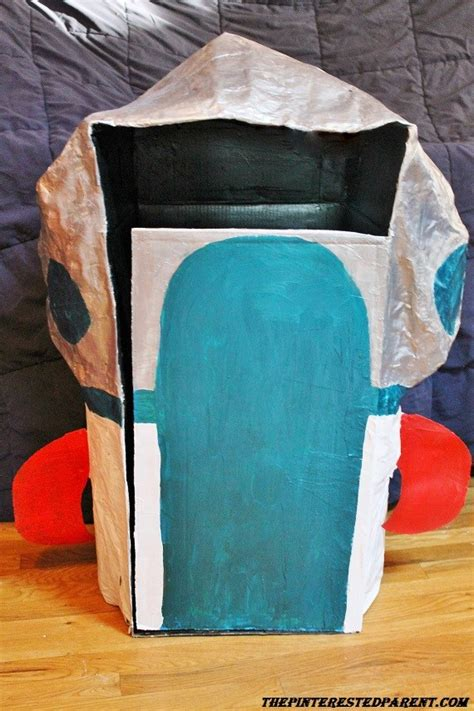 How To Make A Paper Mache Rocket - paper mache rocket ship the pinterested parent