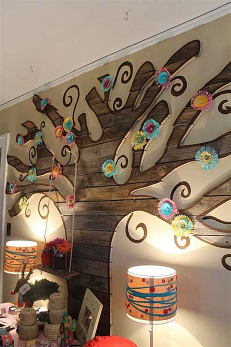 recycled pallet wall art ideas  enhancing