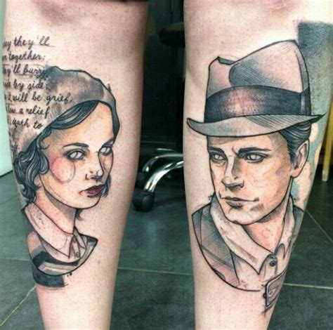 bonnie and clyde tattoos de 25 b 228 sta id 233 erna om bonnie and clyde bodies bara p 229