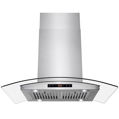 whirlpool kitchen exhaust fan whirlpool 36 in convertible range hood in stainless steel