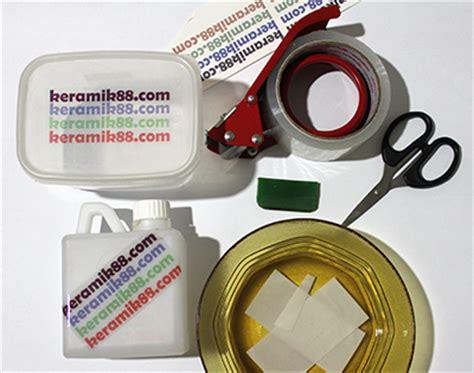 Kertas Decal Dye sticker selotip dari kertas decal coating decal pakai