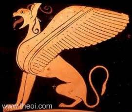 Ancient Egyptian Vases Griffin Gryps Eagle Headed Amp Winged Lion Of Greek