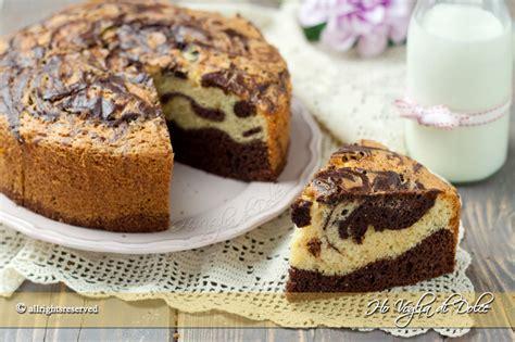 torte facili e veloci da fare in casa torta marmorizzata ricetta ho voglia di dolce