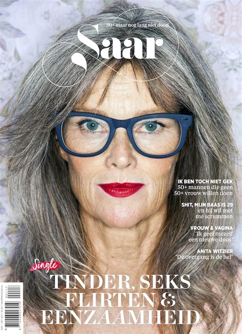 are there any magazines beauty for the over 70 women over 50 owning it and on the cover of a magazine that s