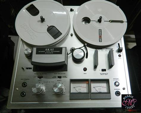 Toa Stereo Seetronik Akai 1 4 Inch 6 5mm akai 1722 ii 4 track stereo reel to reel vintage recorder of 1975 77