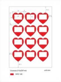 Herz Aufkleber Rolle by Etikettenstar Gmbh