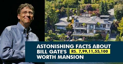 2 000 Square Feet by 13 Mind Boggling Facts About Bill Gates House That Will