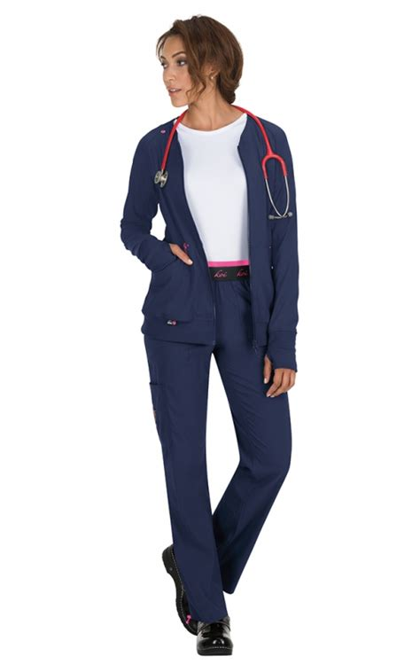 koi scrubs jackets 445 koi lite clarity ribbed panel scrub jackets