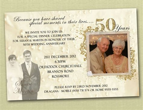 50th anniversary invitations templates 25 best ideas about wedding anniversary invitations on
