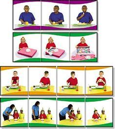 Building A Snowman Sequence Cards Educational
