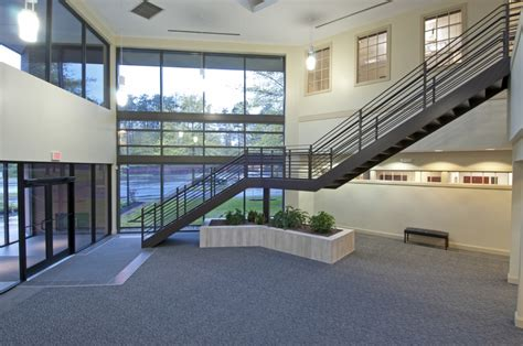 Lobby Stairs Design Commercial Real Estate Office Space Hoffman Enterprises Albany Ny Commercial Properties