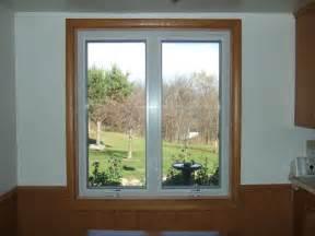 interior wood trim vinyl replacement windows discussion