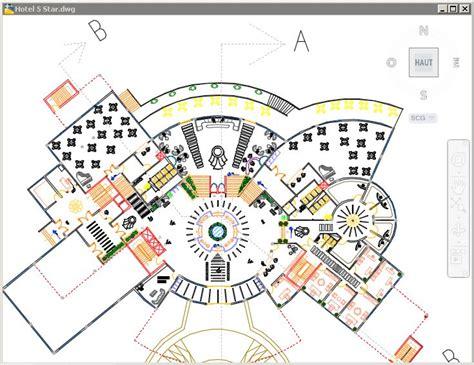 hotel floor plan dwg plan d un h 244 tel 5 233 toiles fichier dwg a t 233 l 233 charger