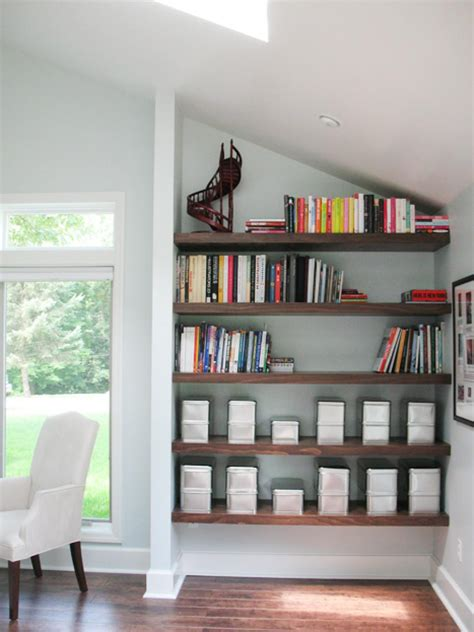room shelves utilize spaces with creative shelves hgtv