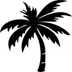 palm tree outline clipart best