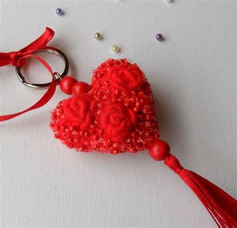 Bagcharm Handmade crochet keychain bag charm unique handmade