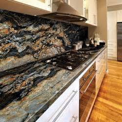 granite magma gold contemporary kitchen