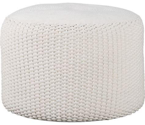 Floor Poof by Criss Knit Indoor Outdoor Pouf Floor Pillows