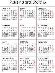 Kalendár Na Rok 2018 Kalendarz Na 2016 Rok Do Druku Pdf Edukacyjne Bajki Do