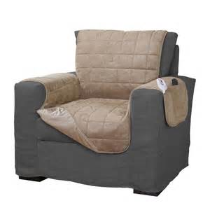 Slipcover For Armchair Heated Furniture Cover