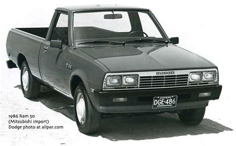 mitsubishi pickup 1980 early dodge mitsubishi import truck mitsubishi triton