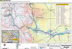 colorado water districts map instream flow coyote gulch page 12