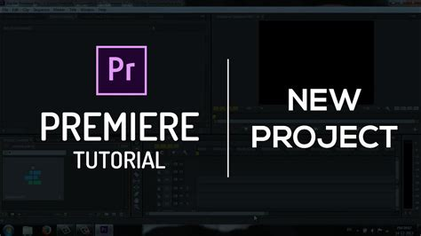 adobe premiere pro cc tutorial exporting a sequence creating new project and sequence adobe premiere pro cc