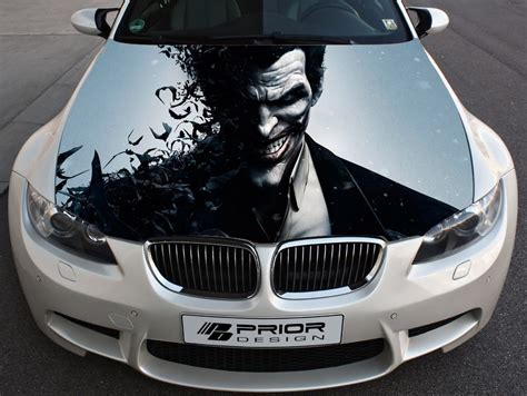 Where To Vinyl Wrap My Car - vinyl wrap car color graphics decal joker