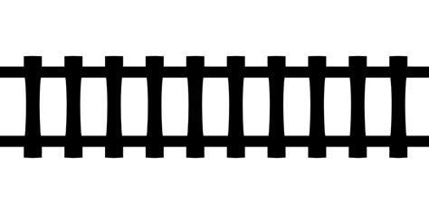 rails templates free vector graphic rails railway tracks black tile