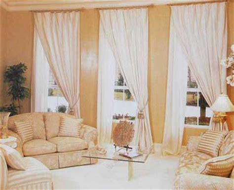 Neutral Curtains Window Treatments Designs All About Window Window Treatment Ideas